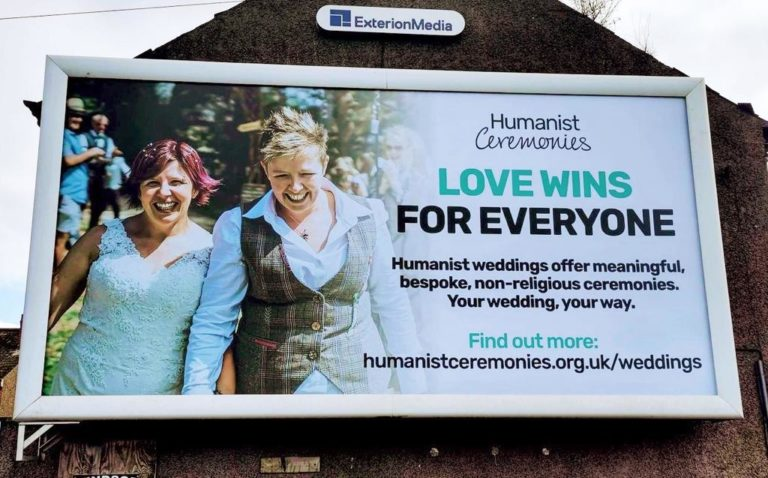 Northern Ireland boasts beautiful billboards advertising same-sex marriage 💍