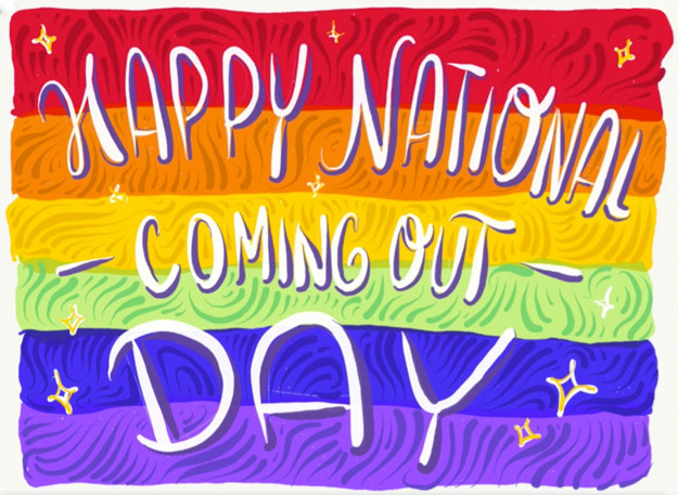 Happy (belated) Coming Out Day!